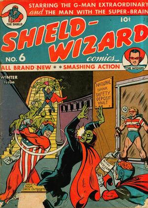 Shield-Wizard Comics Vol 1 6