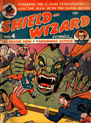 Shield-Wizard Comics Vol 1 4