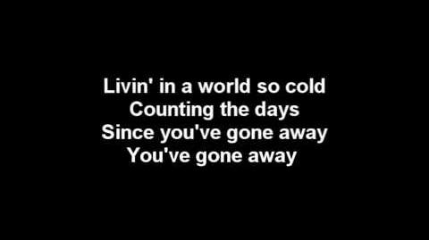 Three Days Grace - World So Cold Lyrics & HQ Audio