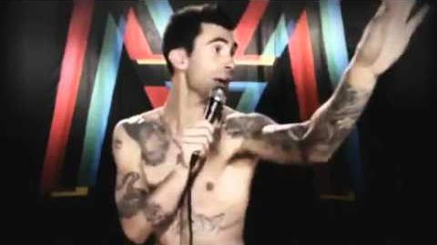 Maroon 5 - moves like jagger ft Christina Aguilera Official music video
