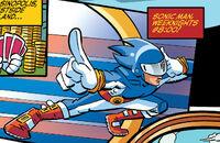 Sonic Man Ad