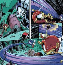 Mighty vs Werehog