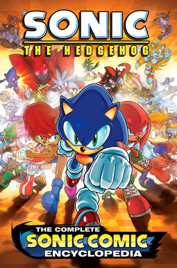 Sonic encyclopedia cover preview