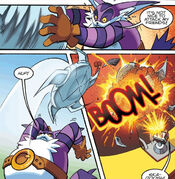 Big Fights Silver Sonic
