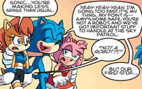 Sonic Explains to Sally and Amy