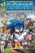 Sonic Panini Comics 8