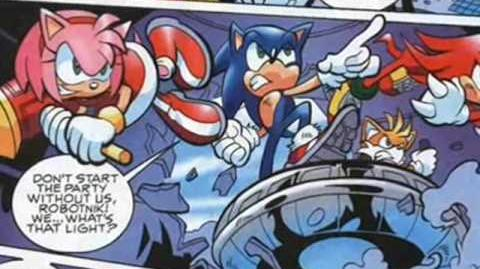 Sonic the Hedgehog (Comic) Commercial