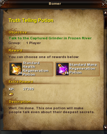 15 Truth Telling Potion