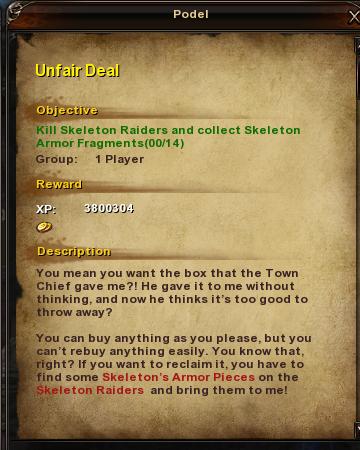 146 Unfair Deal