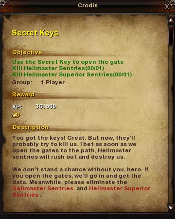 203 Secret Keys