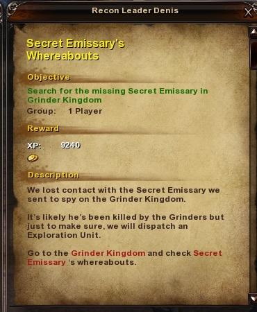109 Secret Emissary's Whereabout