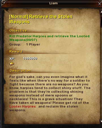 102 Normal Retrieve the Stolen Weapons