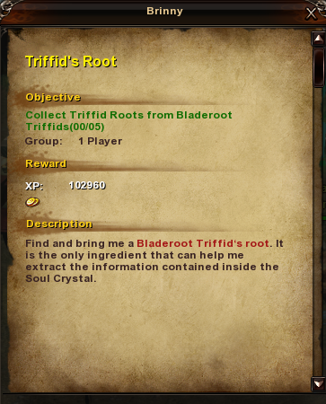 62 Triffid's Root