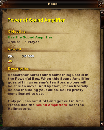 195 Power of Sound Amplifier