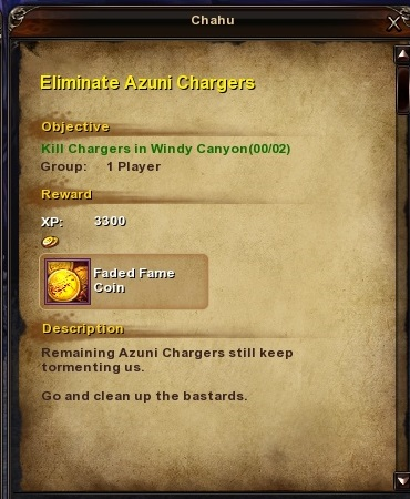 22 Eliminate Azuni Chargers Moonlight Tareh Forest