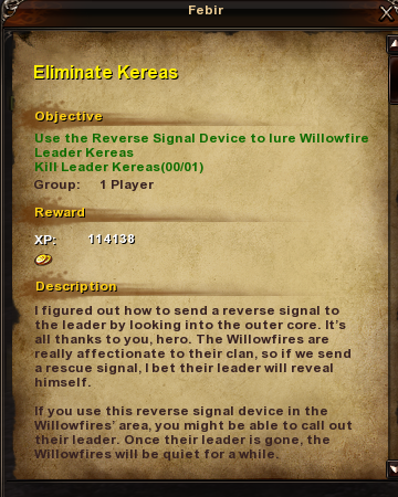 68 Eliminate Kereas