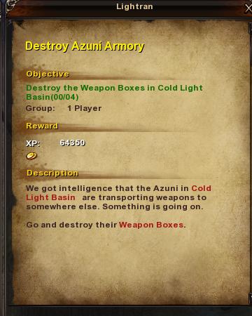 122 Destoy Azuni Armory