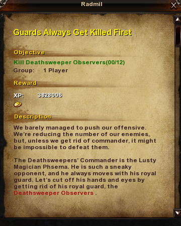 181 Guards Always Get Killed First