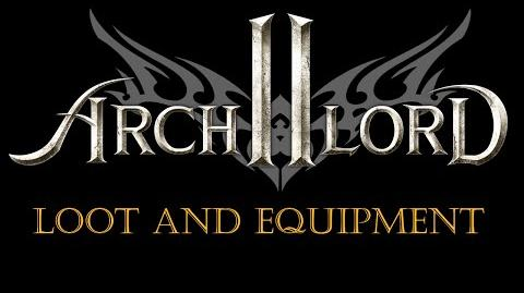 Archlord 2 Vlog - Loot and Equipment