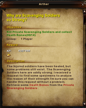 134 Why are Scavenging Soldiers so Strong
