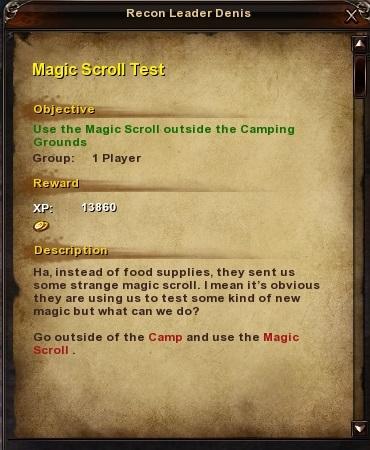 106 Magic Scroll Test 2
