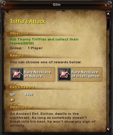 4 Triffid's Attack