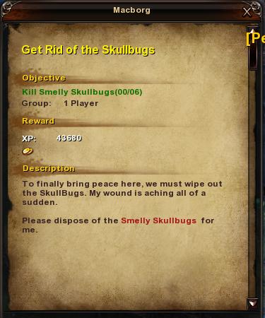 56 Get Rid of the Skullbugs