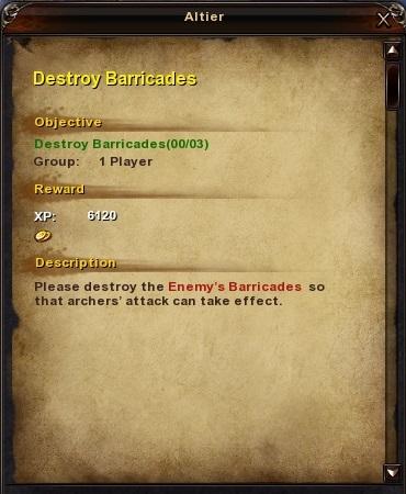 23 Destroy Barricades