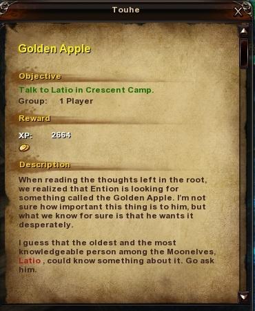 28 Golden Apple Moonlight Tareh Forest
