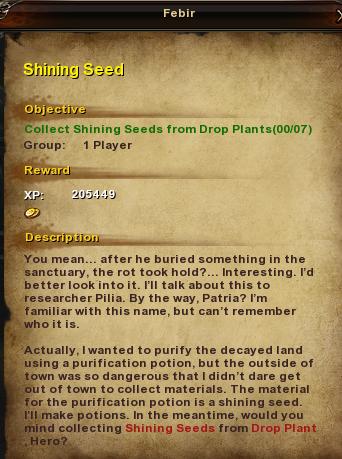 50 Shining Seed
