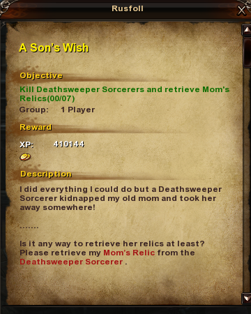 175 A Son's Wish