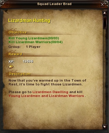 18 Lizardman Hunting