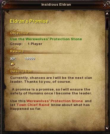128 Eldran's Promise