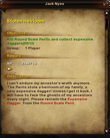 41 Stolen Heirloom