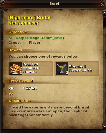 190 Nightmare Brutal Necromancer