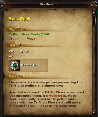 3 Moss Rock