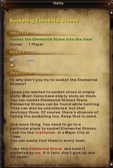 42 Socketing Elemental Stones Moonlight Tareh Forest