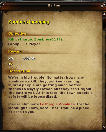11 Zombies Incoming