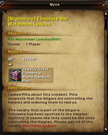 109 Nightmare Eliminate the Watchman Ludoos