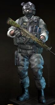 Artic Combat Huth Gibson Black Ops Skin