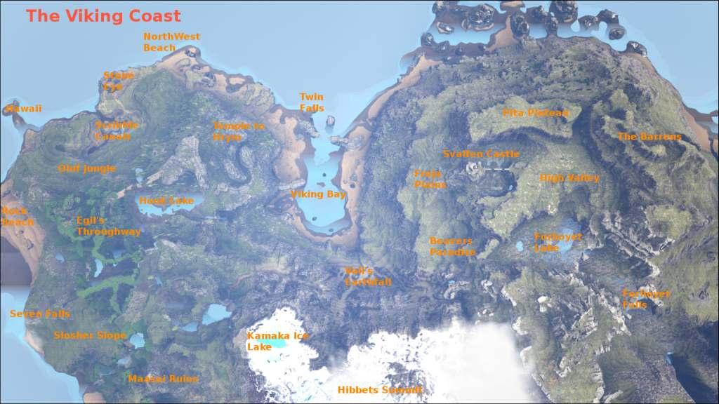 Ark Ragnarok öl Karte.Ark Ragnarok Level Map Hd Wallpapers