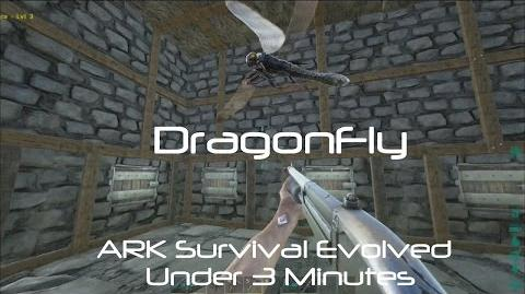 Dragonfly (Meganeura Quatpenn) - ARK Survival Evolved -