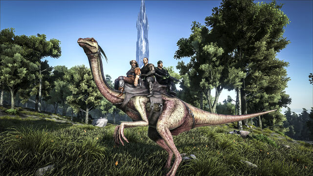 File:ARK-Gallimimus Screenshot 001.jpg