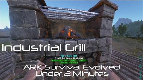 Industrial Grill ARK Survival Evolved
