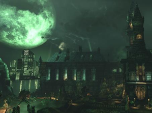 Arkham Asylum game