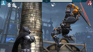 Batman vs Deathstroke Boss Arkham Origins Mobile