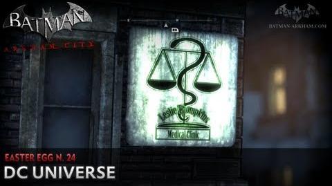 Batman- Arkham City - Easter Egg -24 - DC Universe