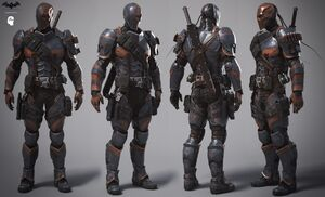 Deathstroke suit Chris6d