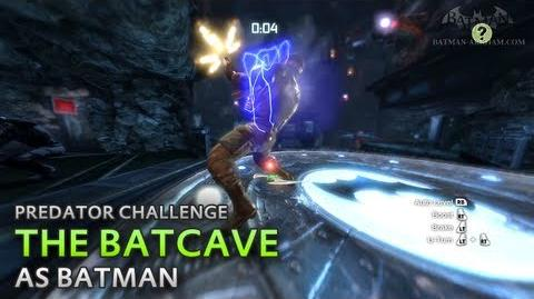 Batman- Arkham City - The Batcave -as Batman- - Predator Challenge