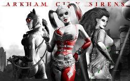 Gotham Sirens - Arkham City